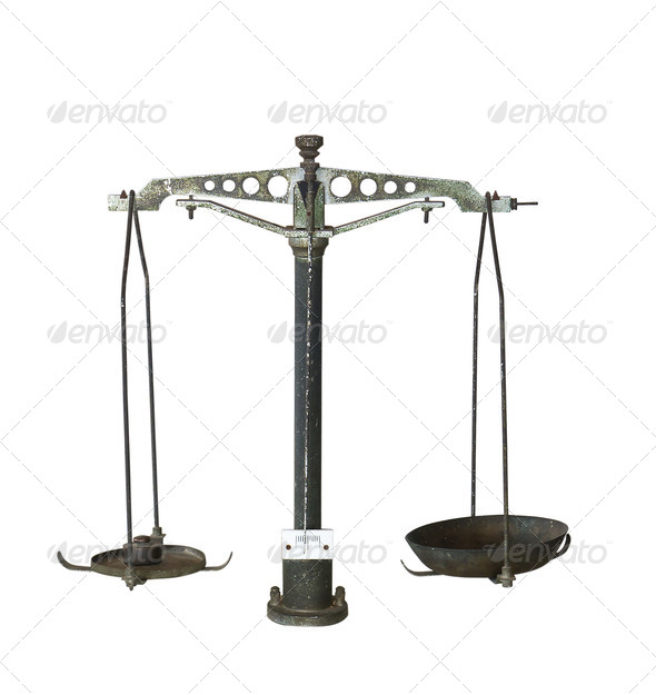 Old scales - Stock Photo - Images