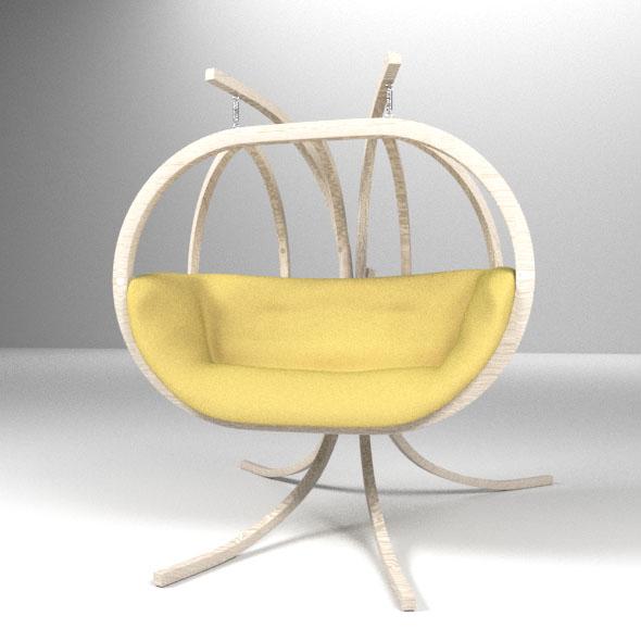 Swing-Hammock - 3DOcean Item for Sale
