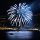 Fireworks on City Coast - VideoHive Item for Sale