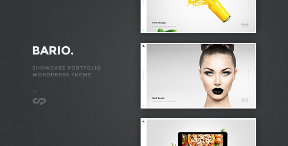 Bario - Showcase Portfolio WordPress Theme