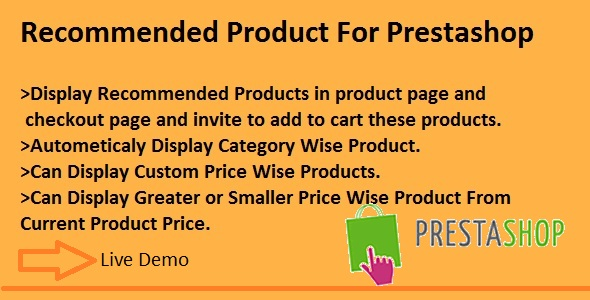 Recommended Product By Similar Price For Prestashop - CodeCanyon Item for Sale