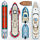 Water Transport Collection - GraphicRiver Item for Sale