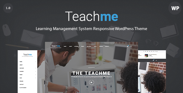 Teachme – Responsive Learning Management System WordPress