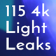 115 Real 4k Light Leaks Overlay Pack Vol1 - VideoHive Item for Sale