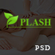 Plash Spa - eCommerce PSD Template