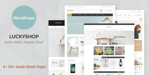 LuckyShop – Multi-Purpose WooCommerce WordPress Theme