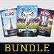 Euro France 2016 Flyer Template Bundle Vol. 22 - GraphicRiver Item for Sale