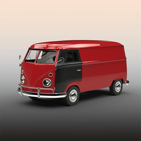 Old van - 3DOcean Item for Sale