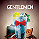 Gentlemen Event Party - GraphicRiver Item for Sale