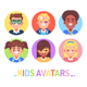Kids Avatars - GraphicRiver Item for Sale