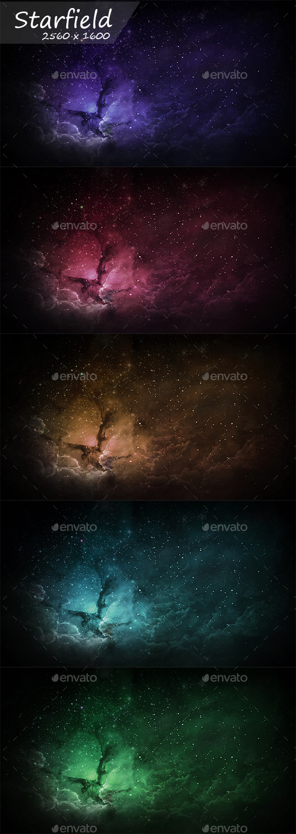 Starfield - Abstract Backgrounds