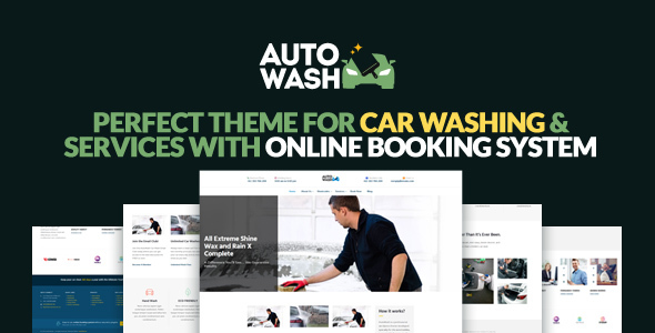 AutoWash – Car | Automobiles Washing WordPress Theme