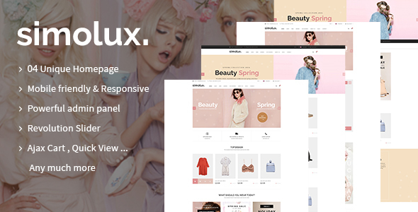 Simolux - Responsive Shopify Theme - Fashion Shopify