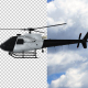 Police Helicopter - Transparent Video - VideoHive Item for Sale
