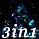 Pulse Thunderstorm - VJ Loop Pack (3in1) - VideoHive Item for Sale