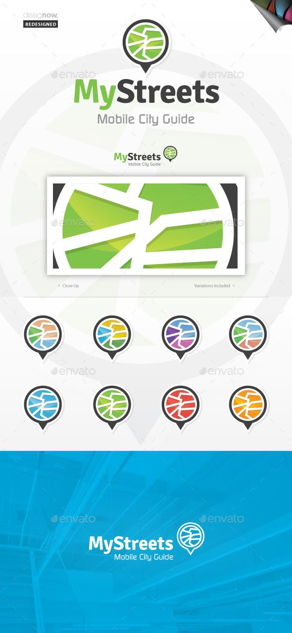 My Streets Logo - Symbols Logo Templates