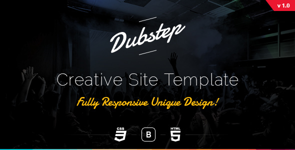 Dubstep – Creative Site Template