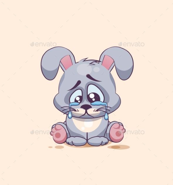 Emoji character cartoon sad by bolsunova graphicriver emoji character cartoon sad animals characters voltagebd Choice Image