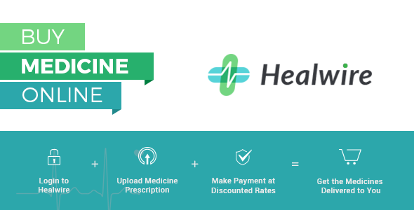 Healwire - Online Pharmacy - CodeCanyon Item for Sale