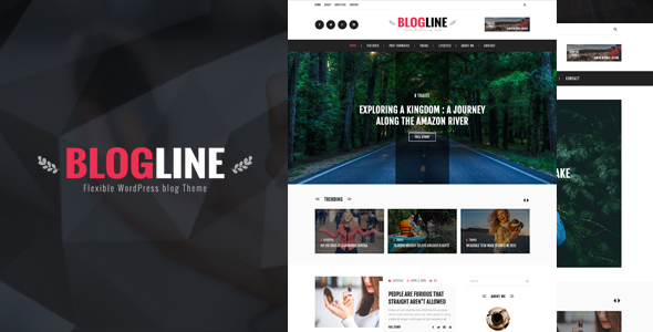 Blogline – Responsive Blog Html5 Template