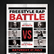 Rap Music Battle Flyer - GraphicRiver Item for Sale