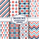 Sea Seamless Patterns - GraphicRiver Item for Sale