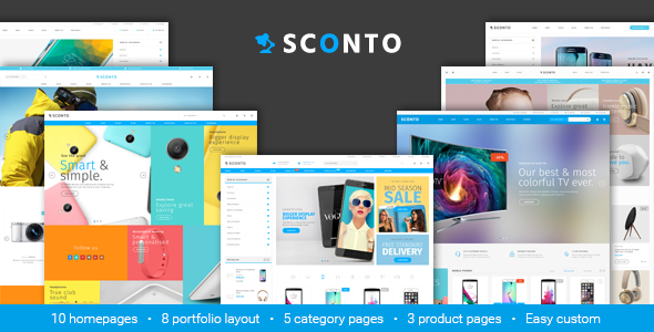 Sconto – Premium eCommerce Template