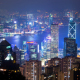 Evening Over Hong Kong - VideoHive Item for Sale