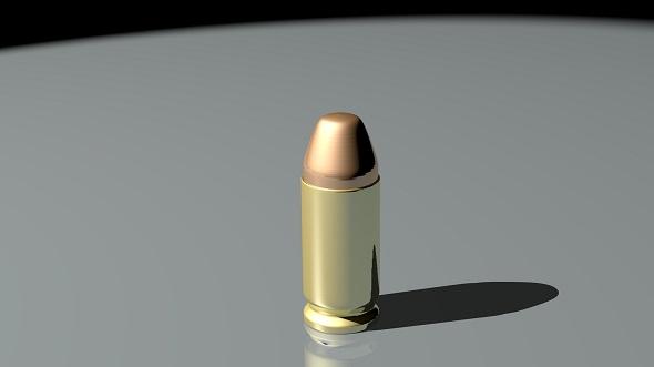 Bullet - Pistol - 3DOcean Item for Sale