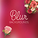 Rose Inspired Blurred Backgrounds - GraphicRiver Item for Sale