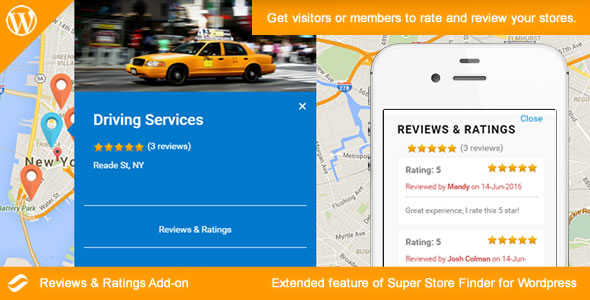 Social Store Locator - Reviews & Ratings Add-on - CodeCanyon Item for Sale
