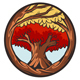 Mascot Red Tree - GraphicRiver Item for Sale