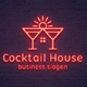 Cocktail House Logo Template - GraphicRiver Item for Sale