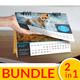 Desk Calendar 2017 Bundle - GraphicRiver Item for Sale