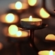 Candle Flame at Night in Church - VideoHive Item for Sale