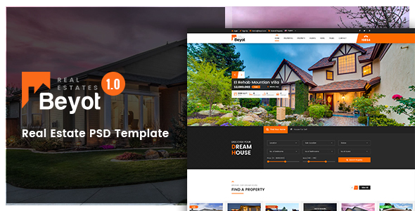 Beyot – Real Estate PSD Template