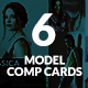 Model Comp Card - GraphicRiver Item for Sale