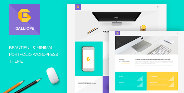 Galliope – Agency/Portfolio WordPress Theme