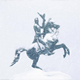 Statue In Snowstorm - VideoHive Item for Sale