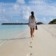 Young Beautiful Woman Enjoying Beach Tropical Vacation - VideoHive Item for Sale