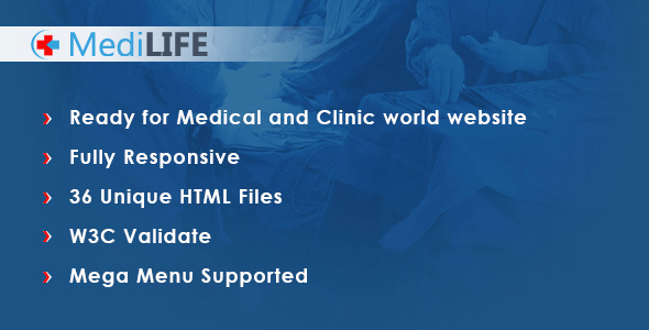 MediLIFE – Multipurpose Medical Template