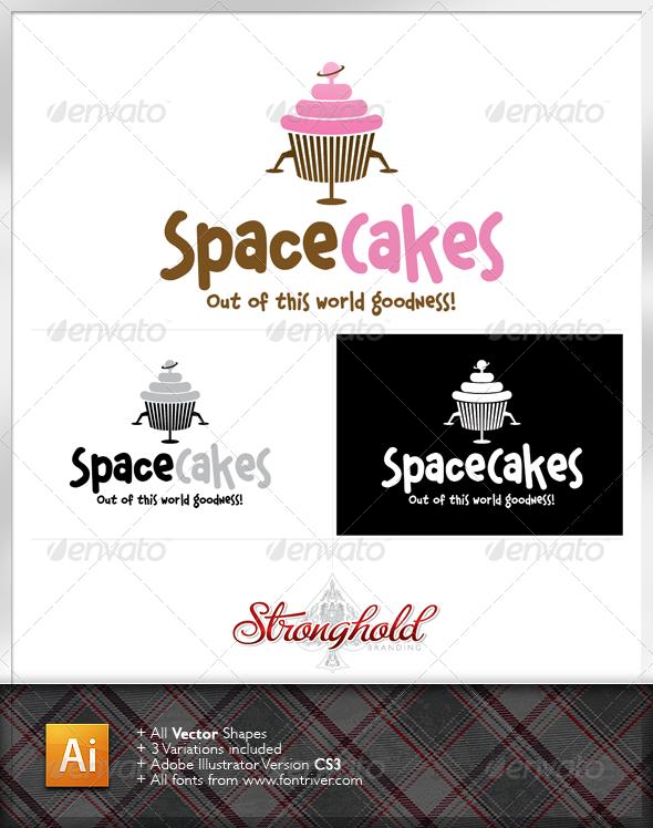 Cupcake Company Logo  - Food Logo Templates