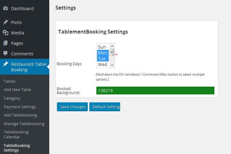 Wordpress Restaurant Table Booking By Upscalethought CodeCanyon - Table reservation software