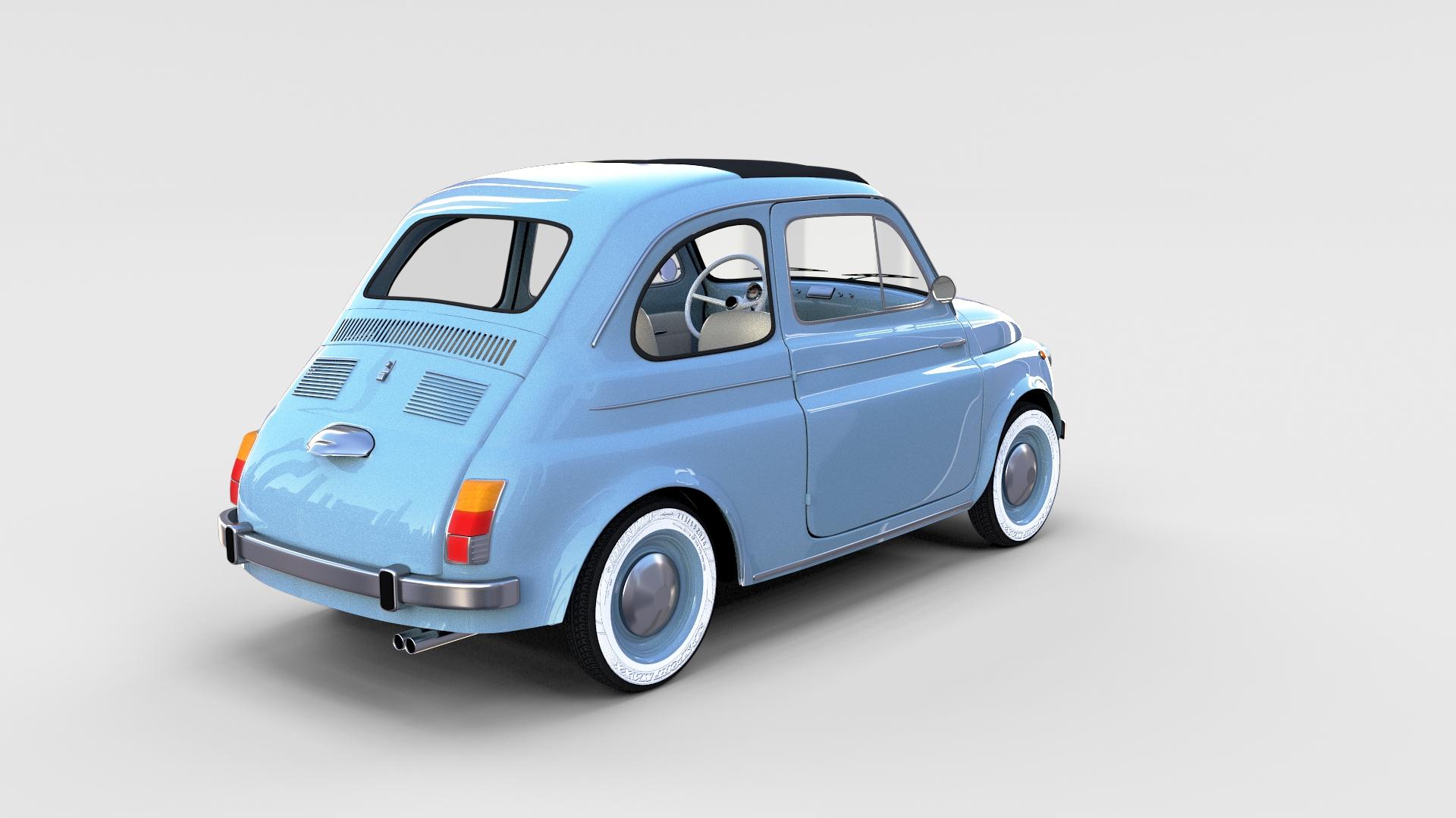 Fiat Nuova 500 1957 Rev By Dragosburian