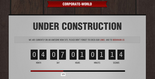 Free Download Corporate World - Under Construction Nulled Latest Version