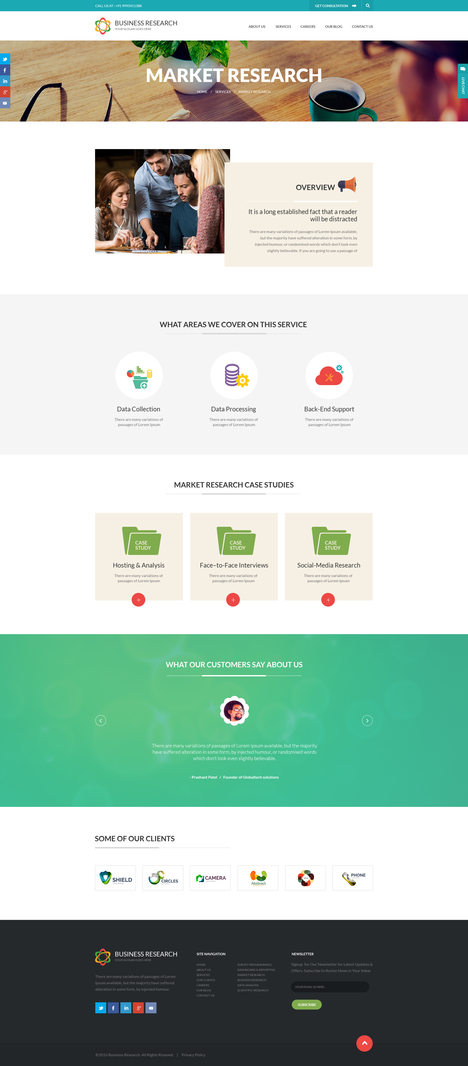 Business research creative psd template by icanb24 themeforest researchg fbccfo Images