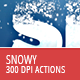 Snowy Text - Photoshop Actions - GraphicRiver Item for Sale