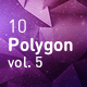 Polygon Abstract Backgrounds vol.5 - GraphicRiver Item for Sale