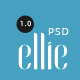 Ellie Creative PSD Template - ThemeForest Item for Sale