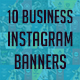 10 Business Instagram Banners - GraphicRiver Item for Sale